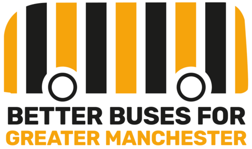 Better Buses for Greater Manchester logo