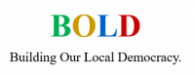 BUILDING OUR LOCAL DEMOCRACY - Bold rochdale's logo