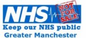 KEEP OUR NHS PUBLIC GREATER MANCHESTER - logo